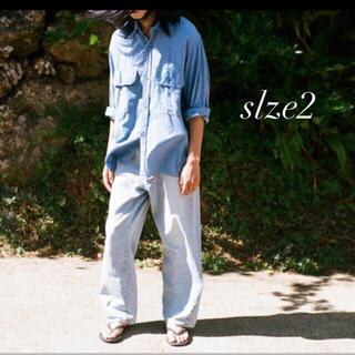 COMOLI - comoli 21ss デニム 5P パンツ