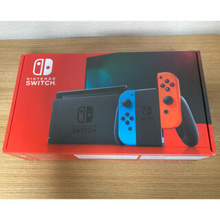 Nintendo Switch - 新品未使用 nintendo switch ネオンブルー