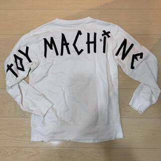 トイマシーン(Toy Machine)のスウェット トレーナー L 白 ホワイト toy machine rvca(スウェット)
