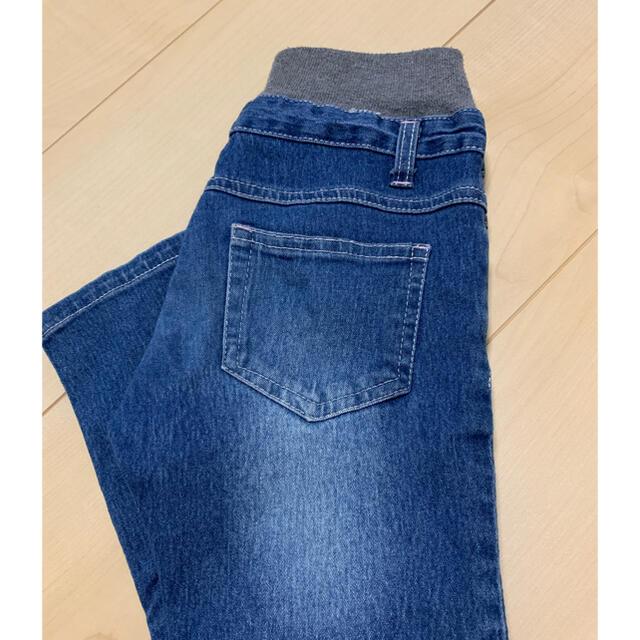 デニム 110 キッズ/ベビー/マタニティのキッズ服男の子用(90cm~)(パンツ/スパッツ)の商品写真