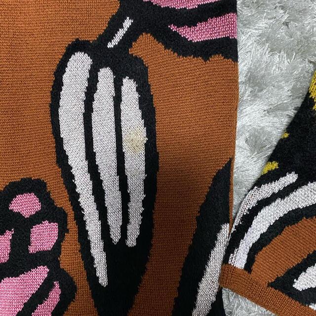 DRIES VAN NOTEN(ドリスヴァンノッテン)の値下げ☆christian wijnants 花柄ニット S メンズのトップス(ニット/セーター)の商品写真