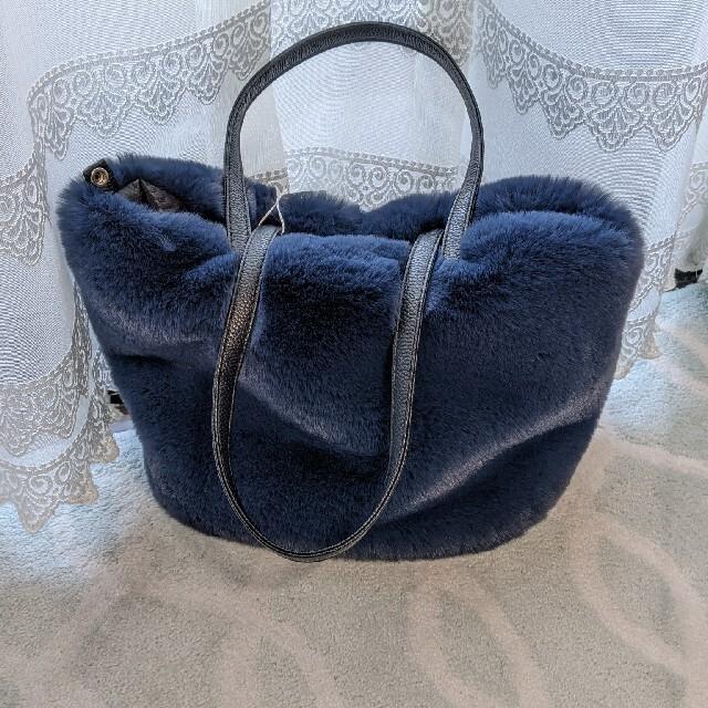 M'S GRACY(エムズグレイシー)のエムズグレイシー/ファーバック&ストール レディースのバッグ(ハンドバッグ)の商品写真