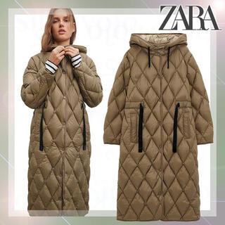 ZARA - ZARA ザラ 2020AW 新作 キルティングダウンジャケット ダウンコート