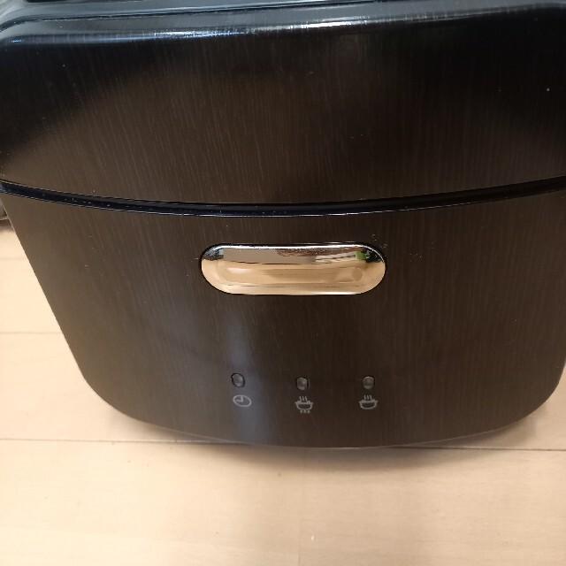 三菱(ミツビシ)の炊飯器 三菱 本炭釜 5.5合 スマホ/家電/カメラの調理家電(炊飯器)の商品写真