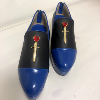 PAMEO POSE - HEART SWORD SHOES ¥29,700 ブラック M 新品未使用