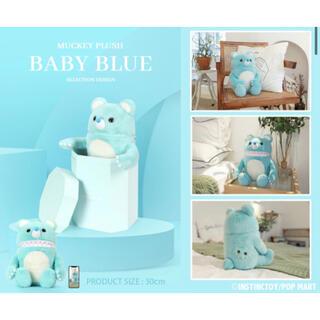 即日発送可能!Muckey Plush Baby Blue ぬいぐるみ(ぬいぐるみ)