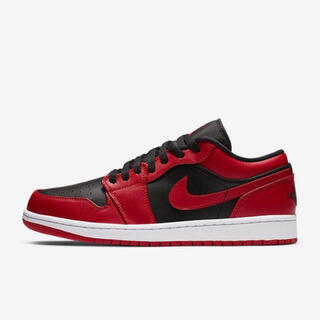NIKE - NIKE AIR JORDAN 1 LOW VARSITY RED26.5cm