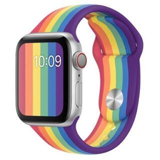 Apple Watch - アップルウォッチ バンド Apple watch 38/40mm シリコン製