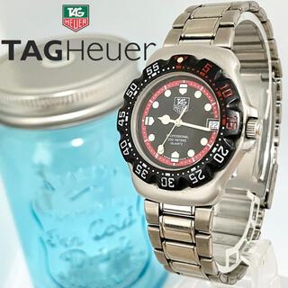 TAG Heuer - 128 タグホイヤー時計 メンズ腕時計 フォーミュラ 新品電池 デイト入り