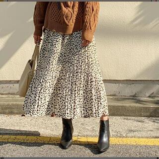 dholic - DHOLIC レオパード スカート