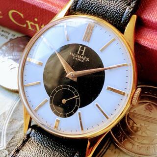 エルメス(Hermes)の#1113【高級ブランドの存在感】エルメス メンズ 腕時計 動作良好 手巻機械式(腕時計(アナログ))