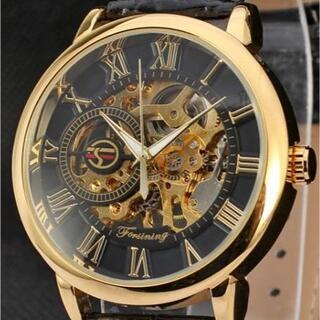 a702 【新品・未使用】日本未発売☆ メンズ 腕時計 ハイコスパ♪ とけい(腕時計(アナログ))