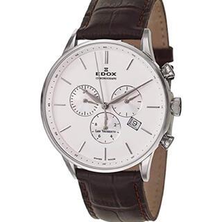 エドックス(EDOX)のEDOX エドックス レ・ボォべール クロノグラフ10408-3A-AIN中古(腕時計(アナログ))