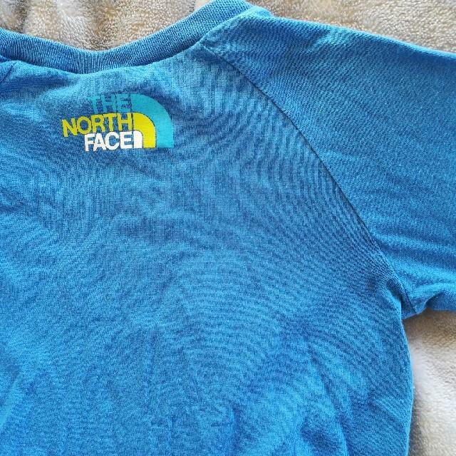 THE NORTH FACE(ザノースフェイス)のノースフェイス ロングスリーブ 長袖 110cm ゴールドウィン正規品 キッズ/ベビー/マタニティのキッズ服男の子用(90cm~)(Tシャツ/カットソー)の商品写真