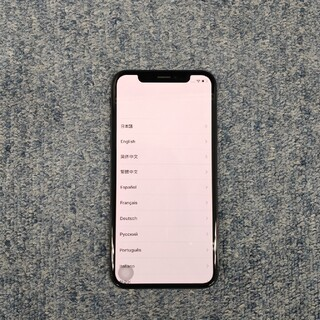 iPhoneX   ジャンク品 外装超美品 利用制限☓