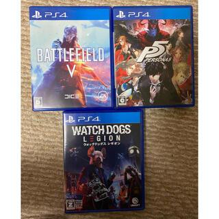 プレイステーション4(PlayStation4)のPS4ソフト3本セット(家庭用ゲームソフト)
