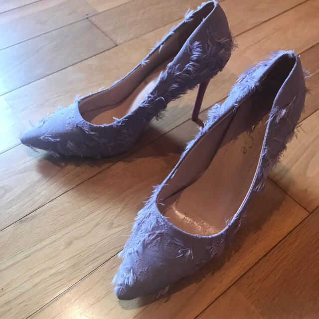 フリンジデザインパンプス ハイヒール レディースの靴/シューズ(ハイヒール/パンプス)の商品写真