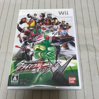 仮面ライダー クライマックスヒーローズW Wii(家庭用ゲームソフト)