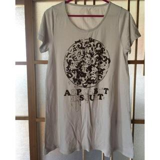 グラニフ(Design Tshirts Store graniph)の半袖AラインチュニックTシャツ  グラニフ(Tシャツ(半袖/袖なし))