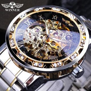 a741 【新品・未使用】コスパ◎ ラグジュアリー 腕時計 メンズ プレゼント(腕時計(アナログ))