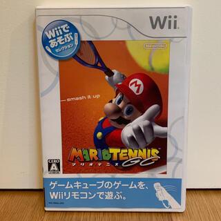 ウィー(Wii)のWiiであそぶ マリオテニスGC Wii(家庭用ゲームソフト)