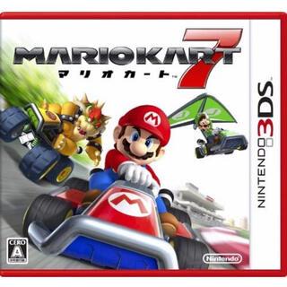 ニンテンドー3DS(ニンテンドー3DS)のマリオカート7 3DS(家庭用ゲームソフト)