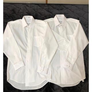 しまむら - カッターシャツ2枚セット160美品