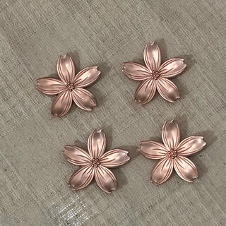 桜の箸置き♪ピンクゴールド4個 サクラ はし置き 和食器