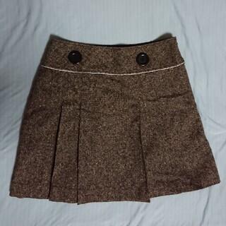 アロー(ARROW)のarw スカート 冬 アロー 日本製(ミニスカート)