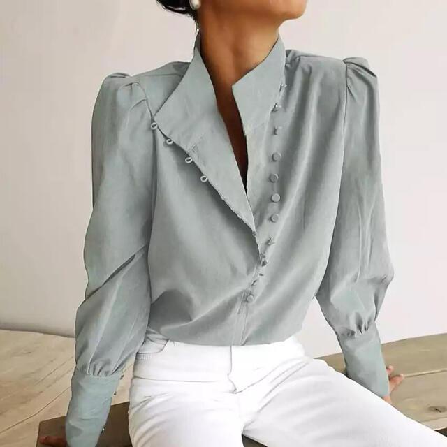 Ameri VINTAGE(アメリヴィンテージ)のロングボタンシャツ レディースのトップス(シャツ/ブラウス(長袖/七分))の商品写真