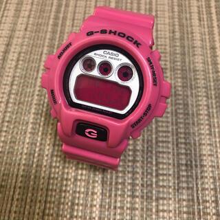 ジーショック(G-SHOCK)のCASIO G-SHOCK DW-6900CS-4JF クレイジーカラーピンク(腕時計(デジタル))