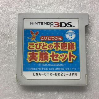 ニンテンドー3DS - 3DS ソフト こびとづかん こびとの不思議 実験セット