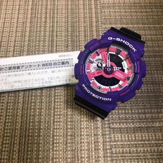 ジーショック(G-SHOCK)のCASIO G-SHOCK GA-110NC パープル×ブラック(腕時計(デジタル))