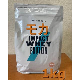マイプロテイン(MYPROTEIN)のマイプロテイン モカ味 1kg(プロテイン)