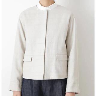 HUMAN WOMAN - ドビーツイードジャケット ¥23,100