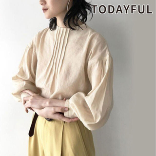 TODAYFUL - 【即日発送】TODAYFULブラウス