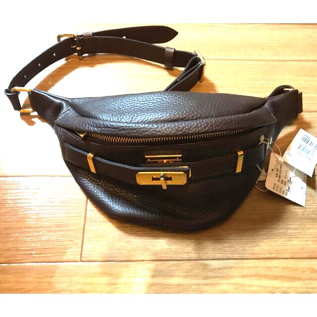 DEUXIEME CLASSE(ドゥーズィエムクラス)の SITA PARANTICA シボカワウエストポーチ   レディースのバッグ(ボディバッグ/ウエストポーチ)の商品写真