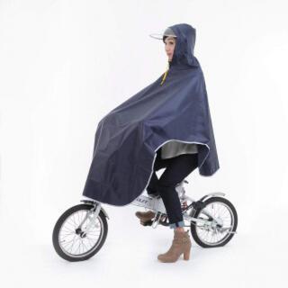 52紺 レインウェア レインスーツ レディース サイクルレイン カッパ 雨具(レインコート)