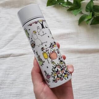 タカラジマシャ(宝島社)の新品未使用 ムーミン 水筒125ml リンネル タンブラー ミニサイズ 少量(タンブラー)