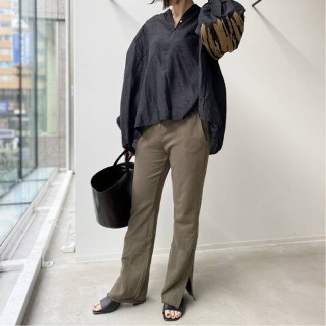 L'Appartement DEUXIEME CLASSE(アパルトモンドゥーズィエムクラス)の新品■GOOD GRIEF■Sweat Pants■ブラウン 38■アパルトモン レディースのパンツ(カジュアルパンツ)の商品写真