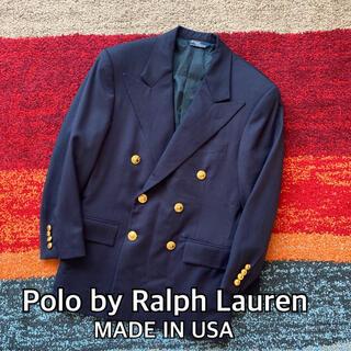 POLO RALPH LAUREN - Polo by Ralph Lauren USA製 ダブル テーラードジャケット