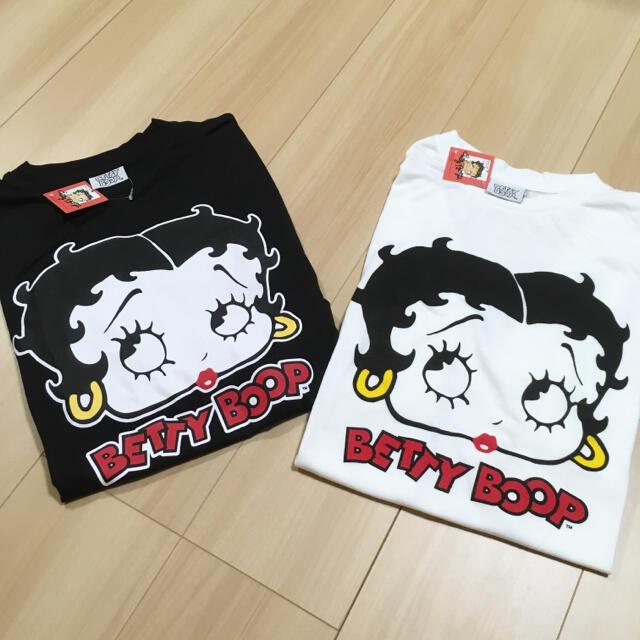 サンリオ(サンリオ)の新品・タグ付き◎ベティーブープ Tシャツ2枚セット♪ レディースのトップス(Tシャツ(半袖/袖なし))の商品写真