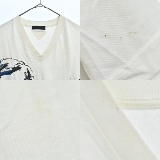 PRADA(プラダ)のPRADA プラダ 半袖Tシャツ メンズのトップス(Tシャツ/カットソー(半袖/袖なし))の商品写真