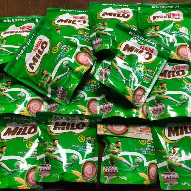 Nestle(ネスレ)のミロ 240g 14個 食品/飲料/酒の飲料(その他)の商品写真