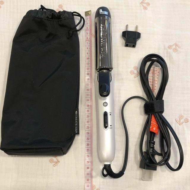 【送料込み】クレイツイオン コテ30mm 折り畳み スマホ/家電/カメラの美容/健康(ヘアアイロン)の商品写真