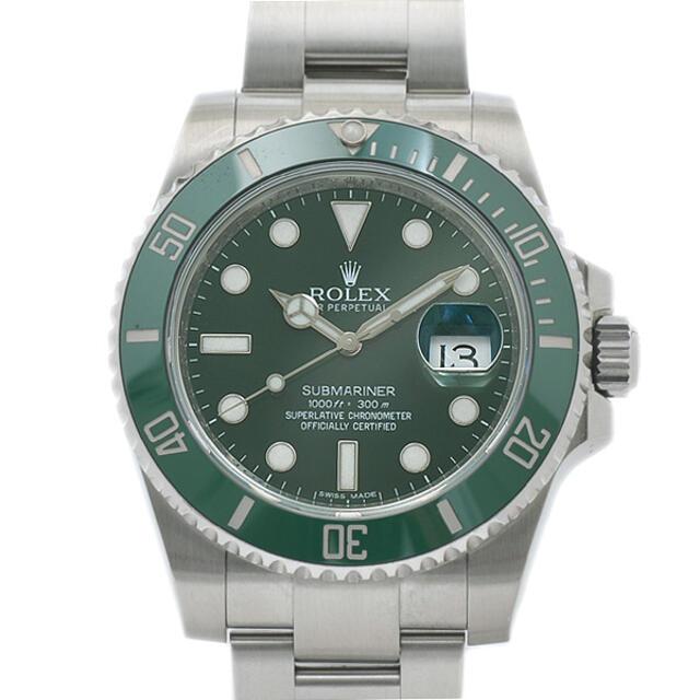 ロレックス サブマリーナ デイト グリーンサブ 116610LV ランダムシリア メンズの時計(腕時計(アナログ))の商品写真