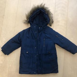 ザラキッズ(ZARA KIDS)のZARA モッズコート ネイビー 110サイズ(ジャケット/上着)