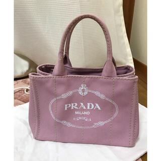 PRADA - プラダ カナパ Sサイズ ピンク