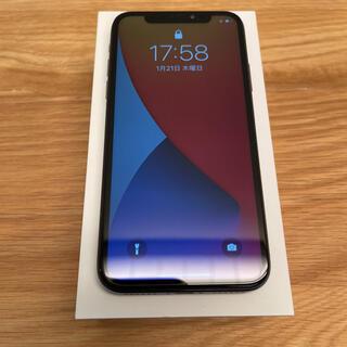 Apple - iPhone X 本体 Space Glay 256 GB SIMフリー 美品