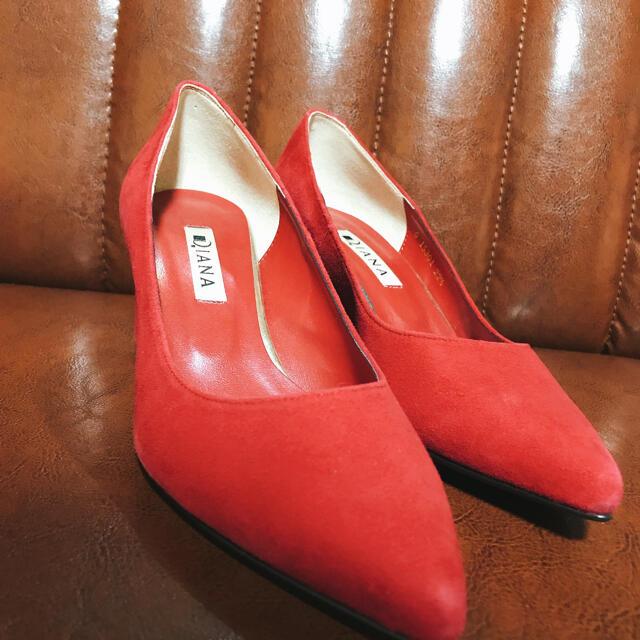 DIANA(ダイアナ)の⭐️極美品⭐️ダイアナ Diana ピンク パンプス 22.5 レディースの靴/シューズ(ハイヒール/パンプス)の商品写真